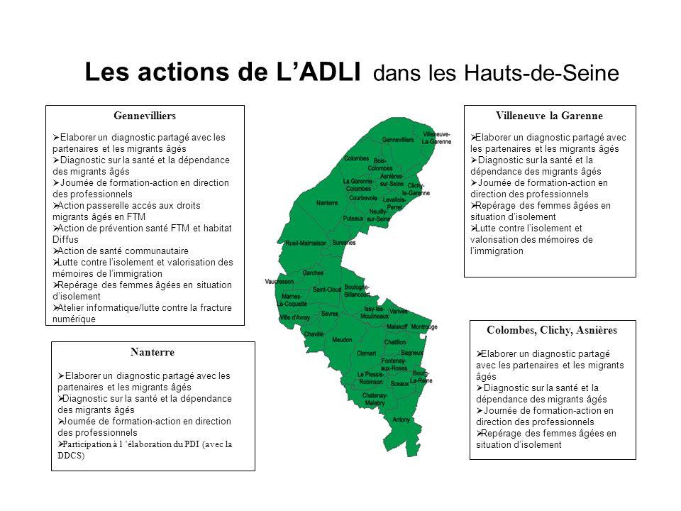 Les actions de L'ADLI dans les Hauts-de-Seine