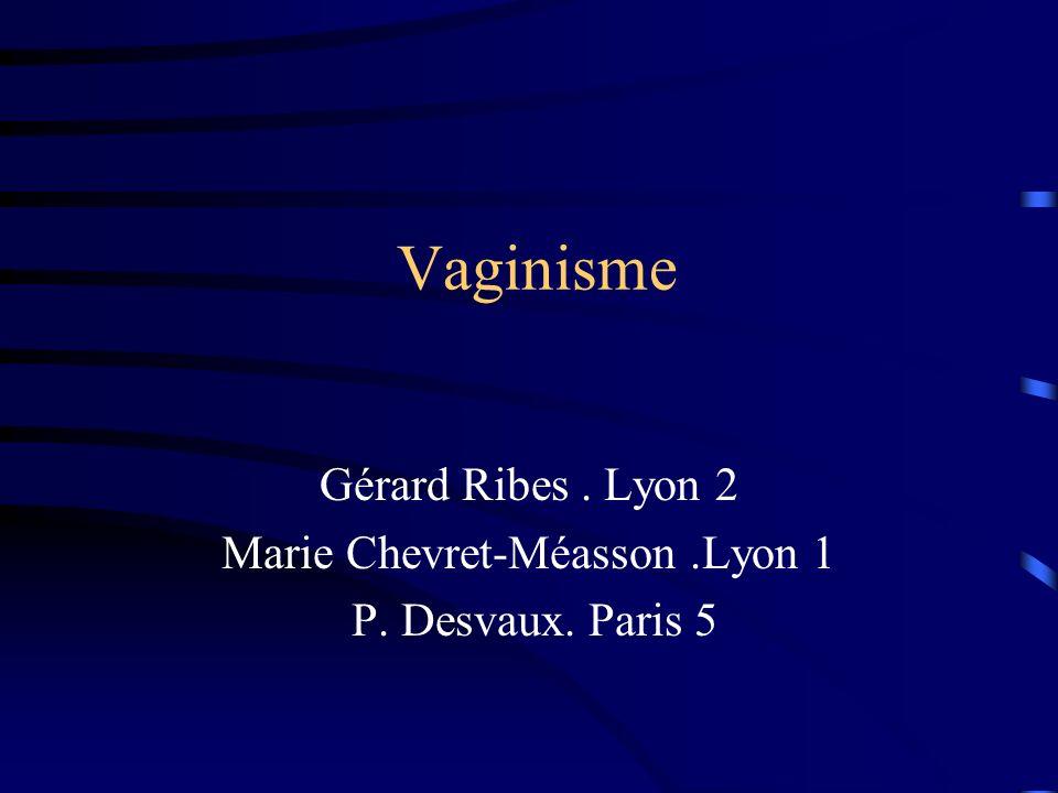 Marie Chevret-Méasson .Lyon 1