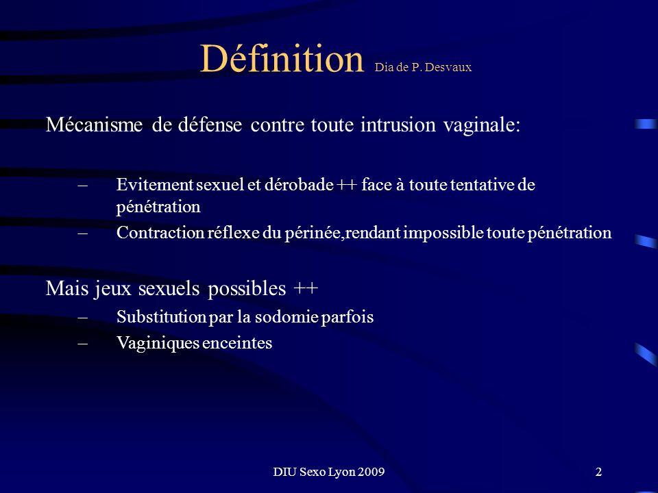 Définition Dia de P. Desvaux