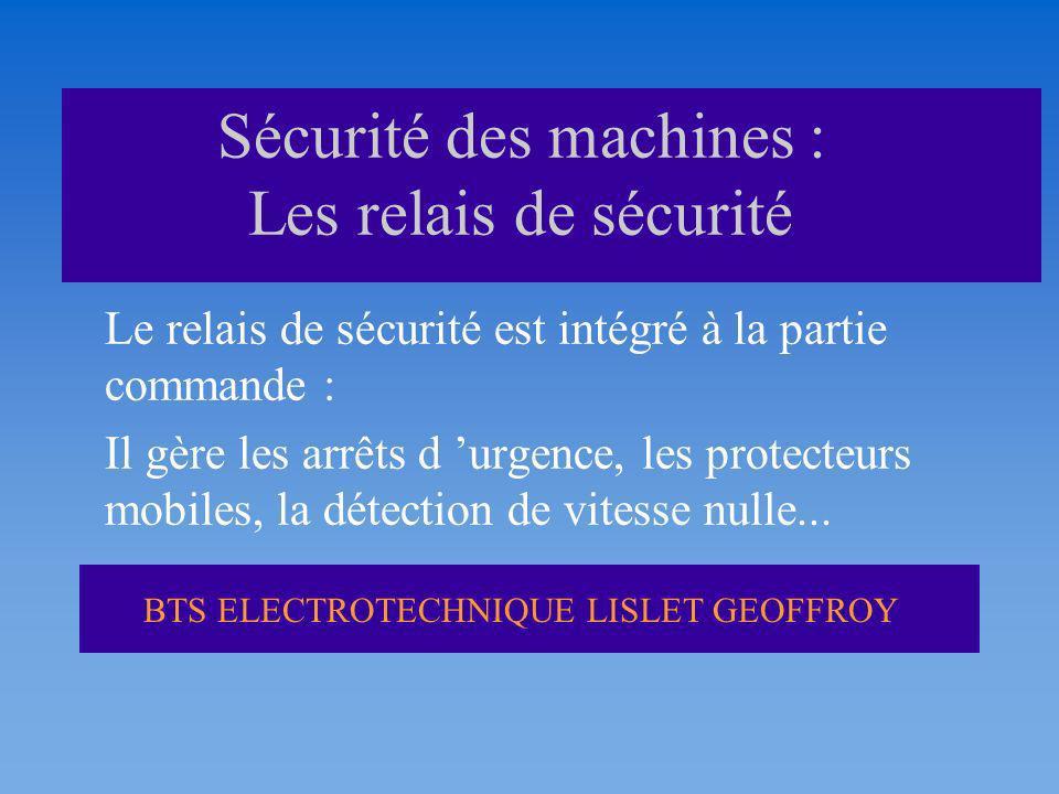 Sécurité des machines : Les relais de sécurité