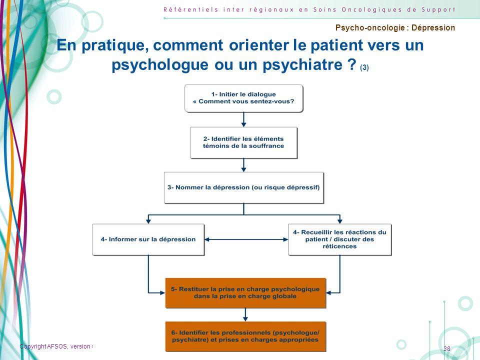 En pratique, comment orienter le patient vers un psychologue ou un psychiatre (3)