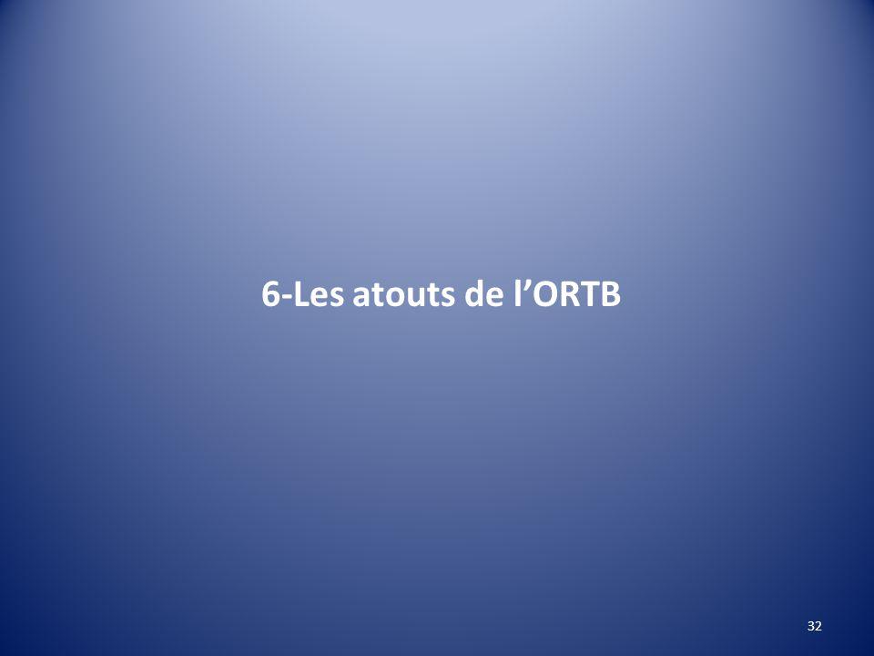 6-Les atouts de l'ORTB