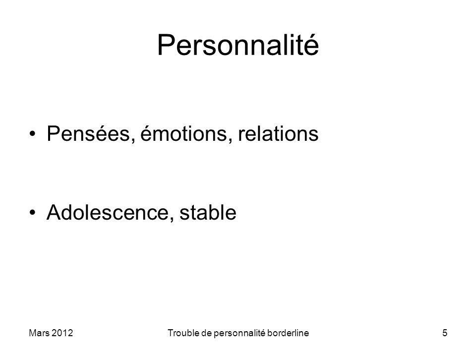 Trouble de personnalité borderline