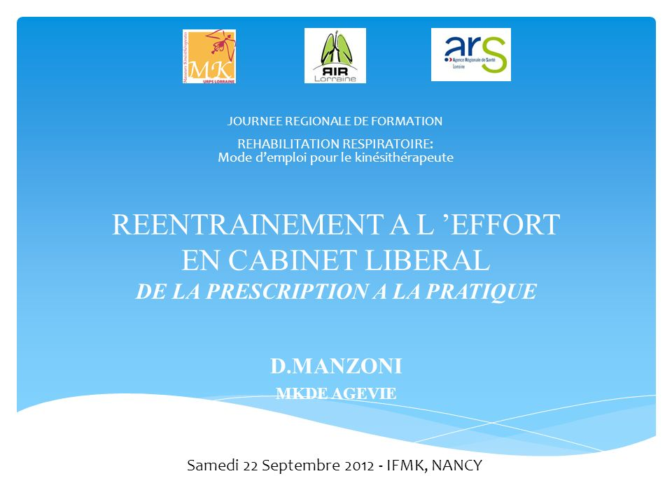 Samedi 22 Septembre 2012 - IFMK, NANCY