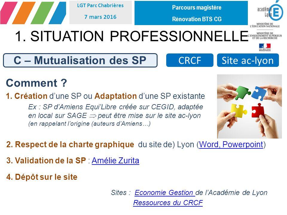 C – Mutualisation des SP