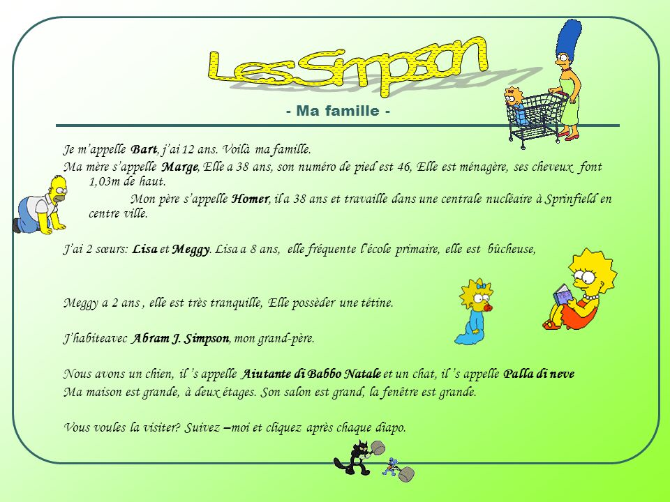 Les Simpson - Ma famille -