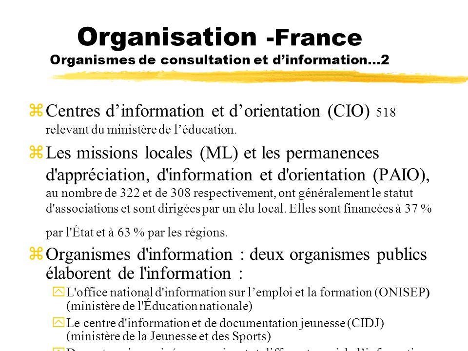 Organisation -France Organismes de consultation et d'information…2
