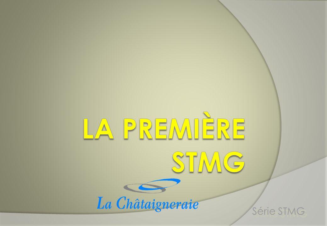 La première STMG Série STMG