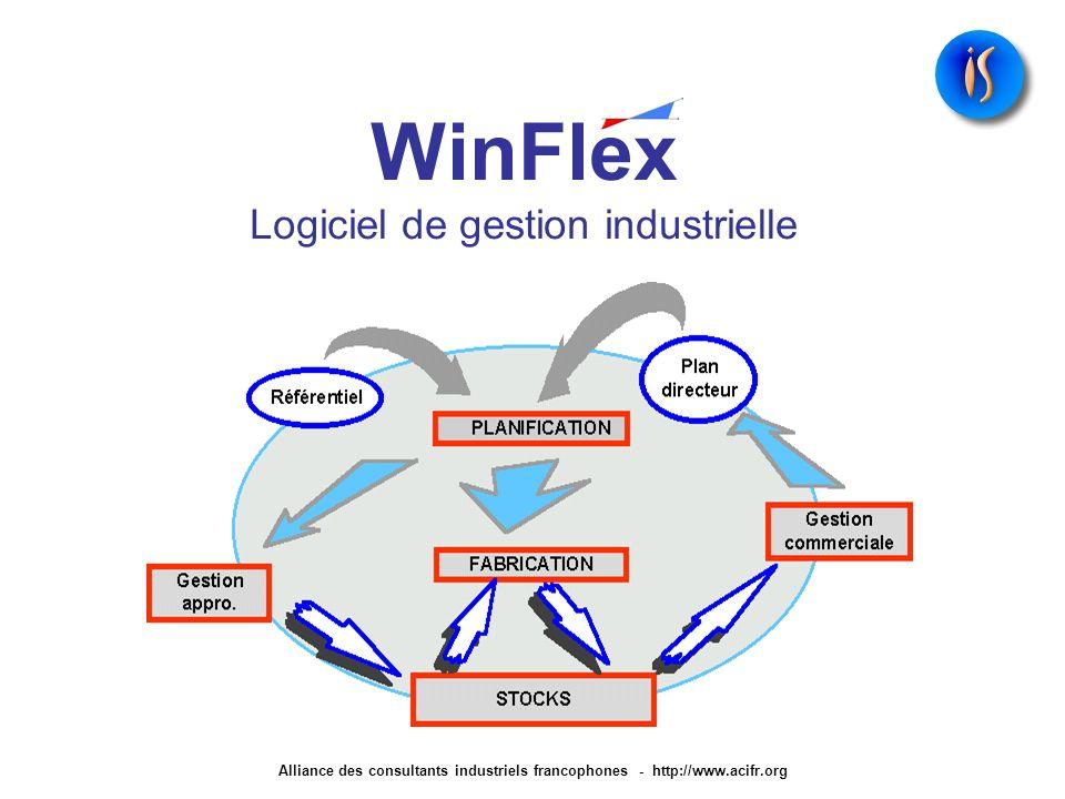 WinFlex Logiciel de gestion industrielle