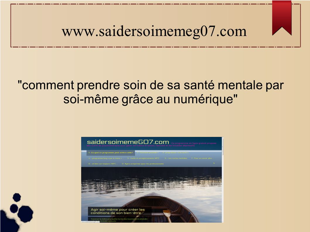 comment prendre soin de sa sant mentale par soi m me. Black Bedroom Furniture Sets. Home Design Ideas