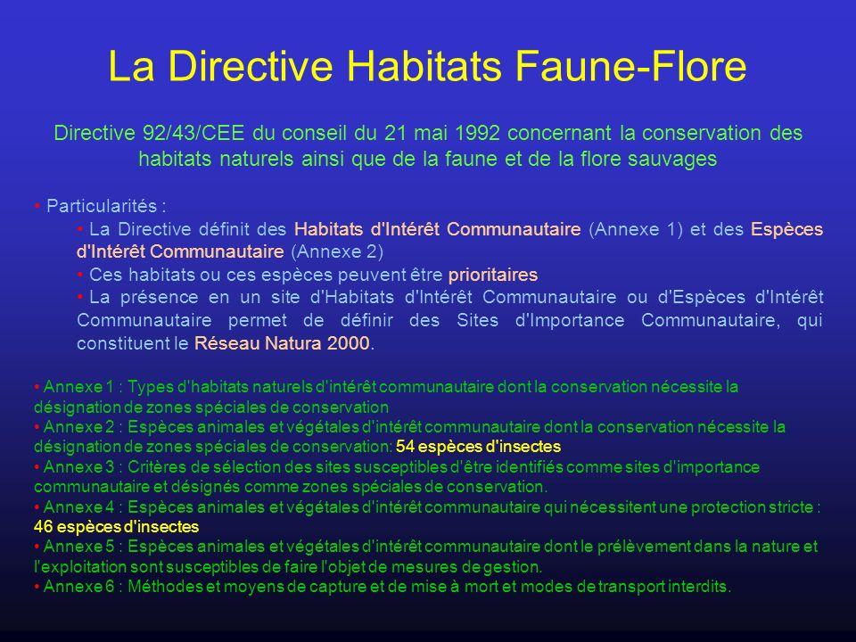 La Directive Habitats Faune-Flore