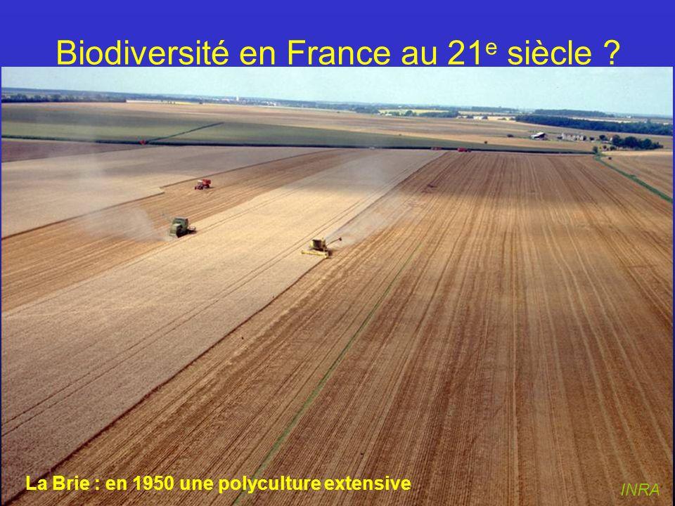 Biodiversité en France au 21e siècle