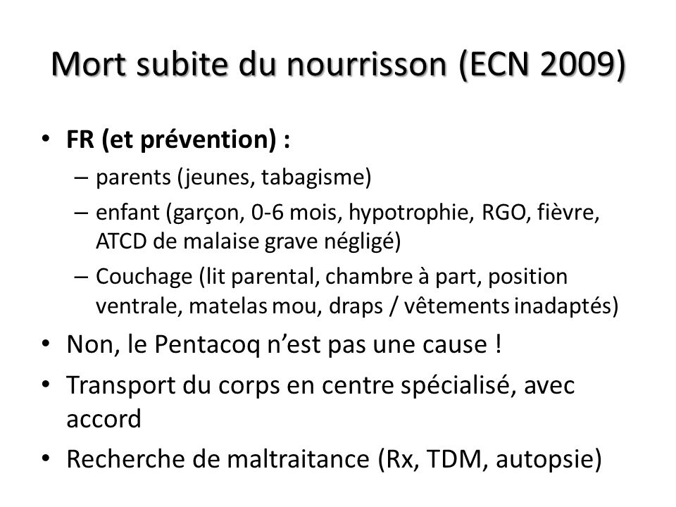 surdosage morphine ecn