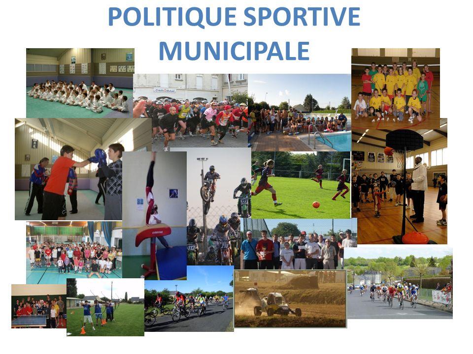 POLITIQUE SPORTIVE MUNICIPALE