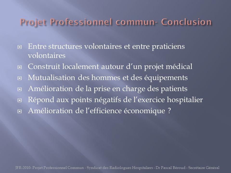 Projet Professionnel commun- Conclusion