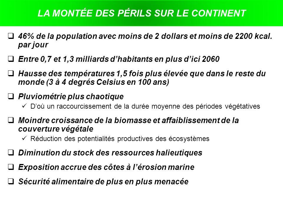 LA MONTÉE DES PÉRILS SUR LE CONTINENT