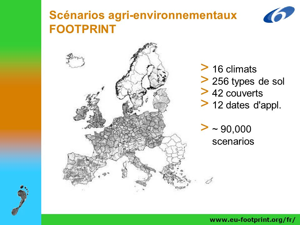 Scénarios agri-environnementaux FOOTPRINT