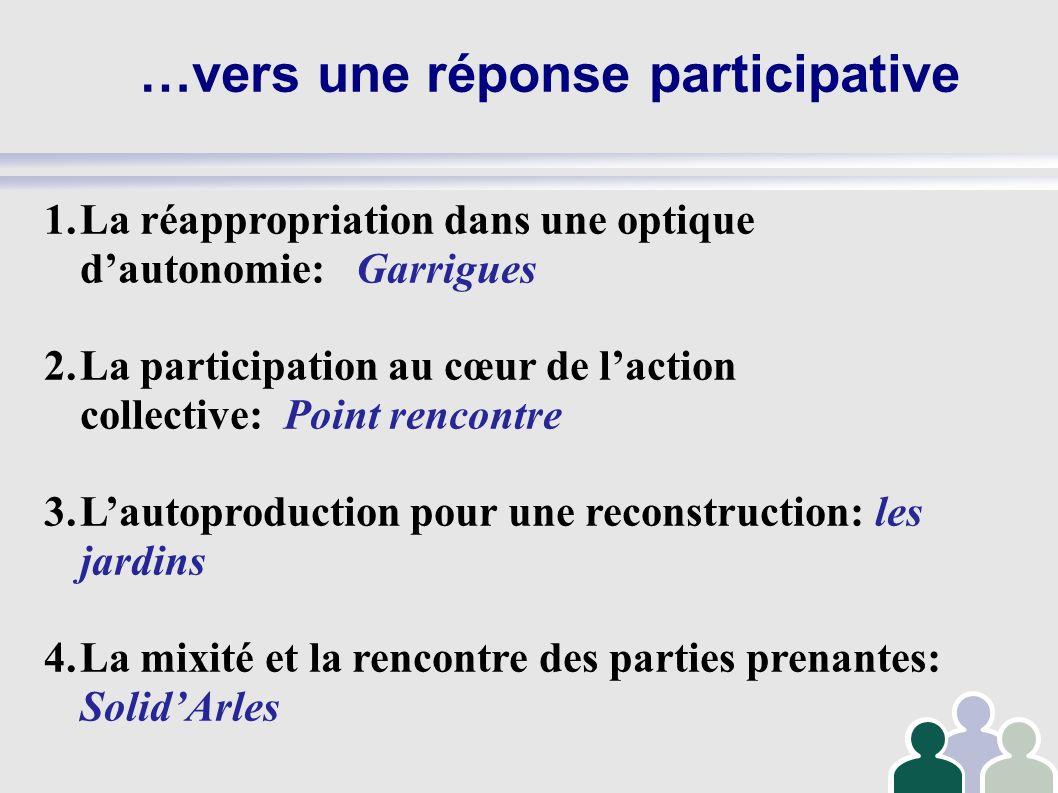 …vers une réponse participative