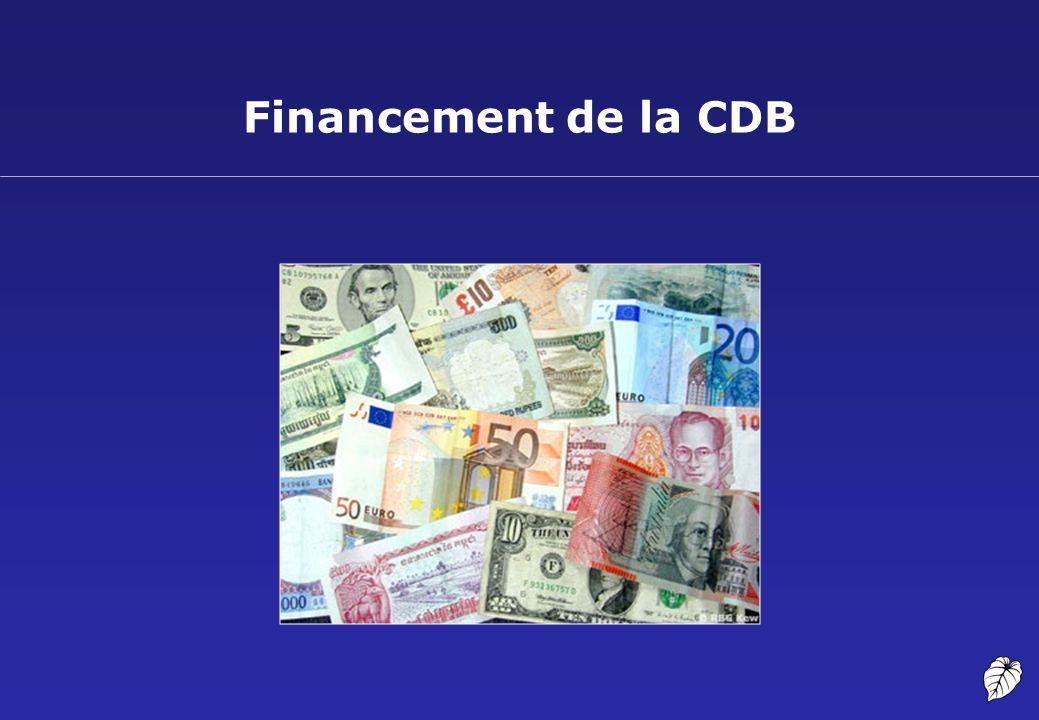 Fonctionnement de la CDB 16