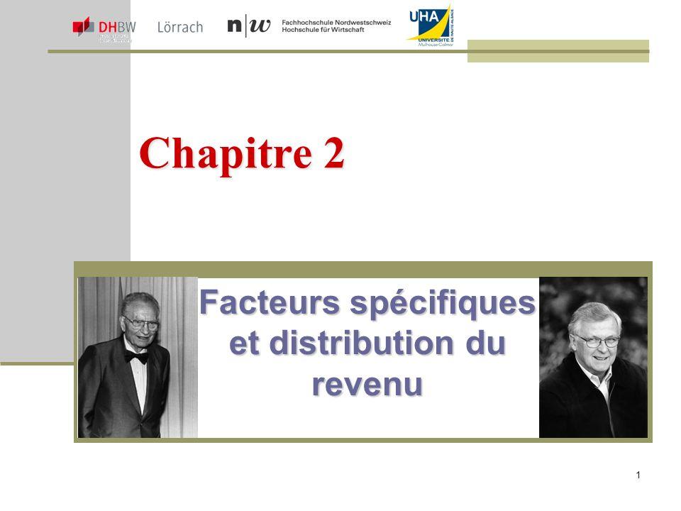Facteurs spécifiques et distribution du revenu