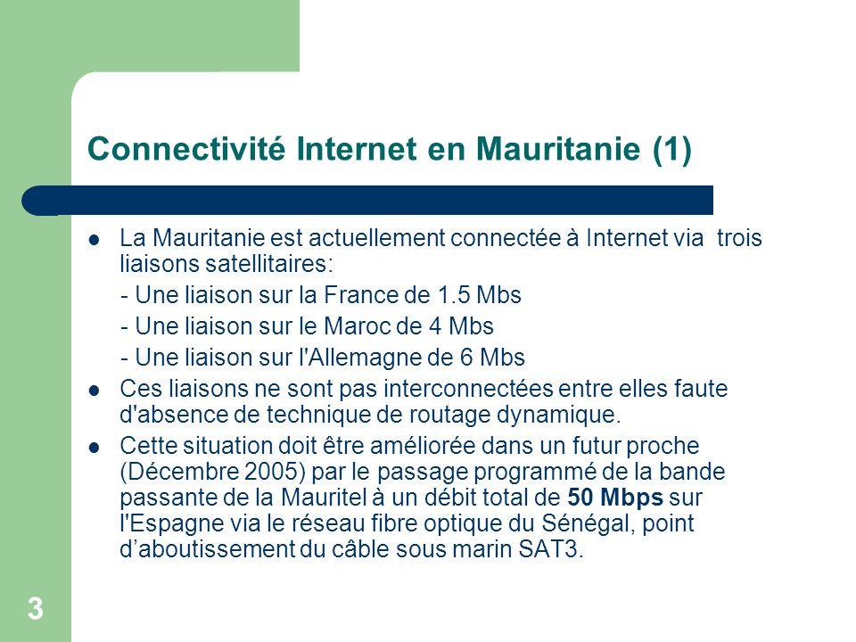 Connectivité Internet en Mauritanie (1)