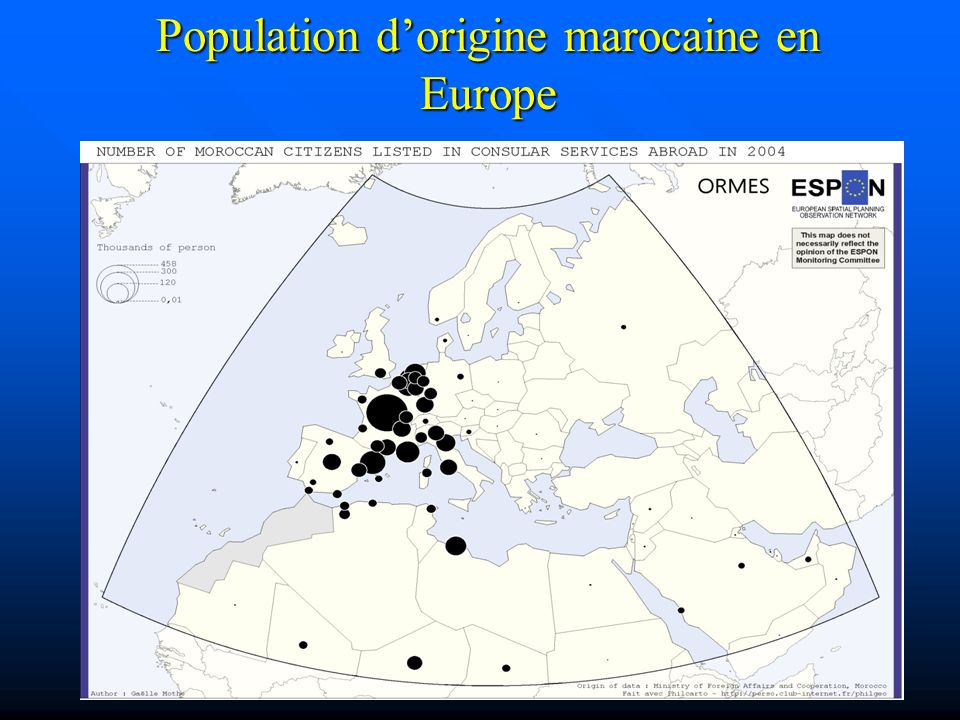 Population d'origine marocaine en Europe