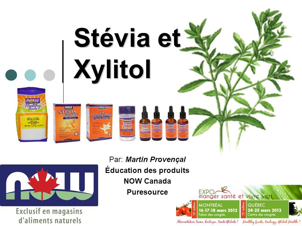 Par: Martin Provençal Éducation des produits NOW Canada Puresource