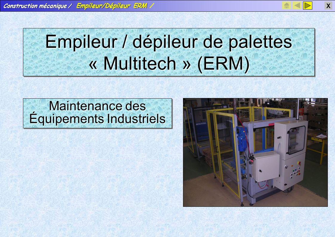 Empileur / dépileur de palettes « Multitech » (ERM)