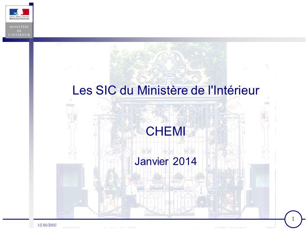 Les SIC du Ministère de l\'Intérieur - ppt video online télécharger