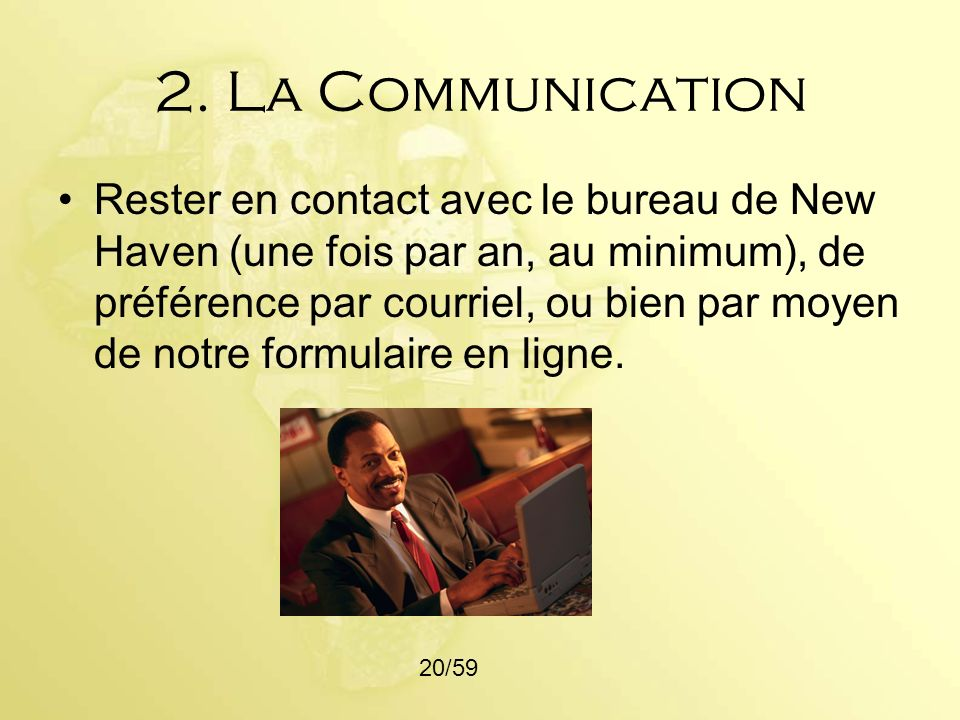 2. La Communication