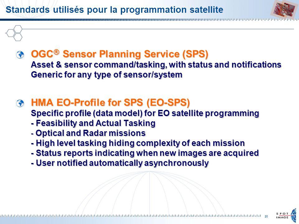 Standards utilisés pour la programmation satellite