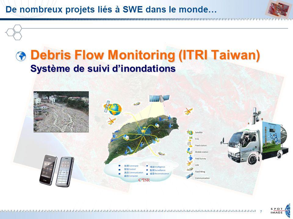 De nombreux projets liés à SWE dans le monde…