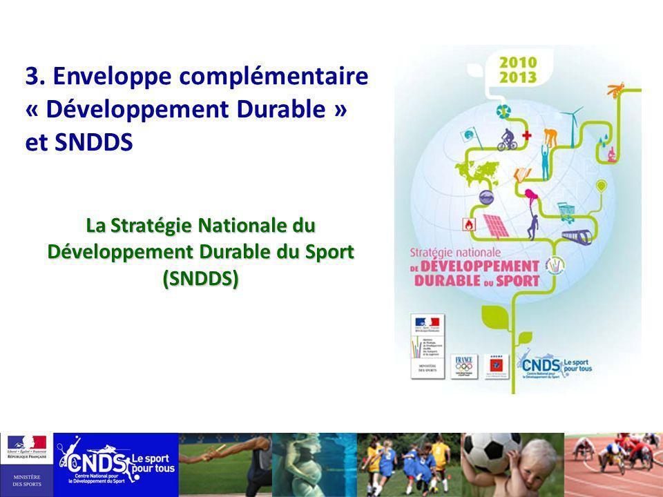 La Stratégie Nationale du Développement Durable du Sport (SNDDS)