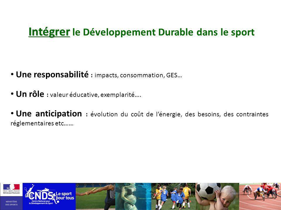 Intégrer le Développement Durable dans le sport