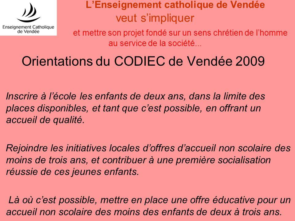 Orientations du CODIEC de Vendée 2009