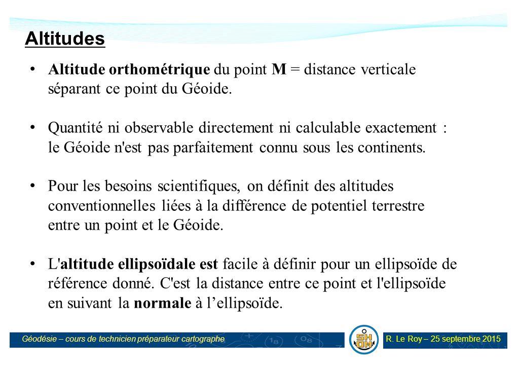 Cours de g od sie 1 octobre 2015 v ppt t l charger - Distance en milles nautiques entre 2 ports ...
