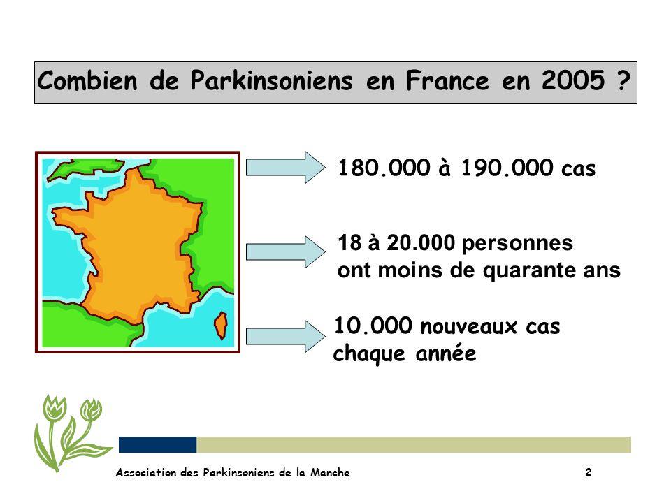 Combien de Parkinsoniens en France en 2005