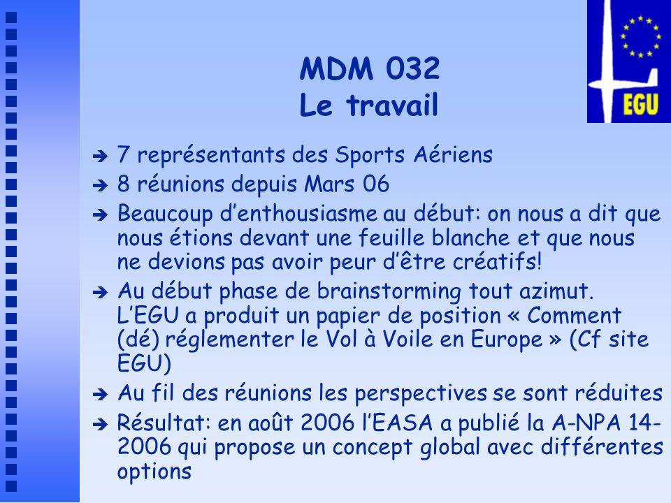 MDM 032 Le travail 7 représentants des Sports Aériens