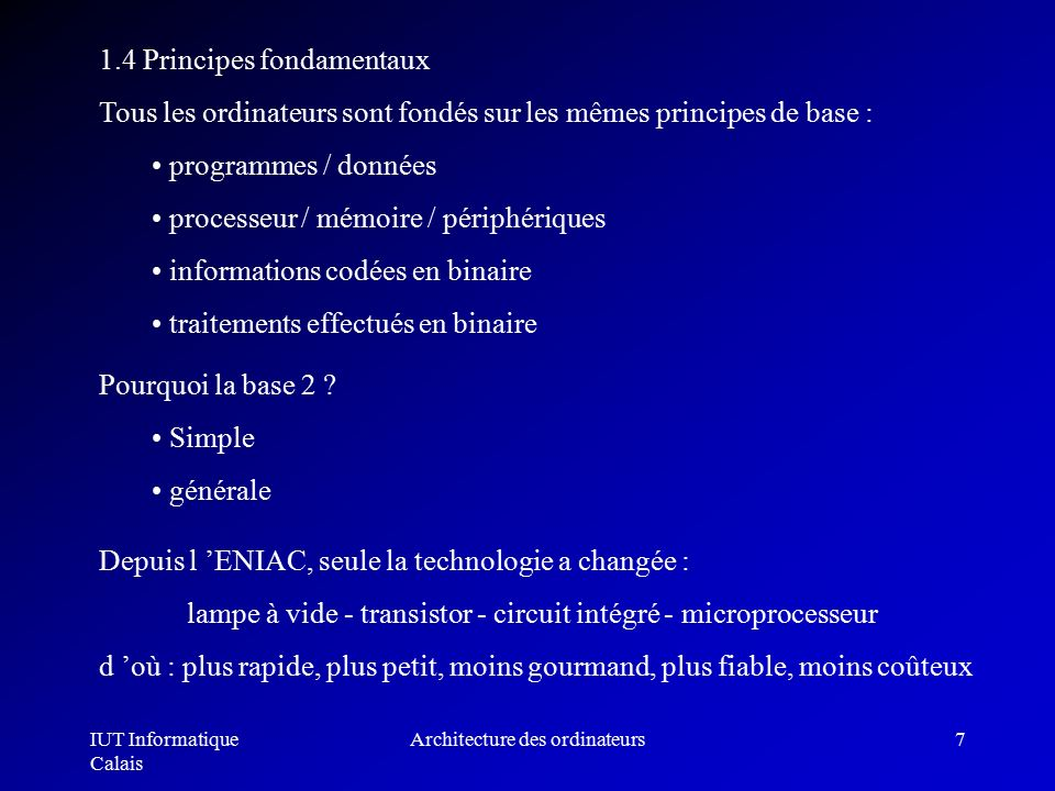 Architecture des ordinateurs ppt t l charger for Definition architecture informatique