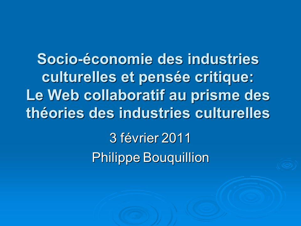 3 février 2011 Philippe Bouquillion