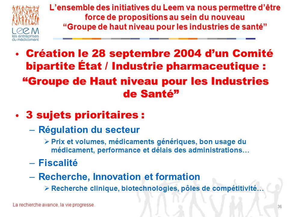 Groupe de Haut niveau pour les Industries de Santé