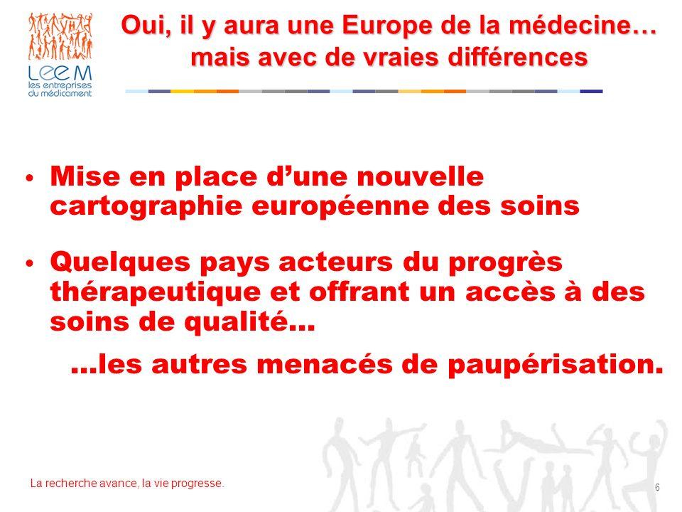 Mise en place d'une nouvelle cartographie européenne des soins