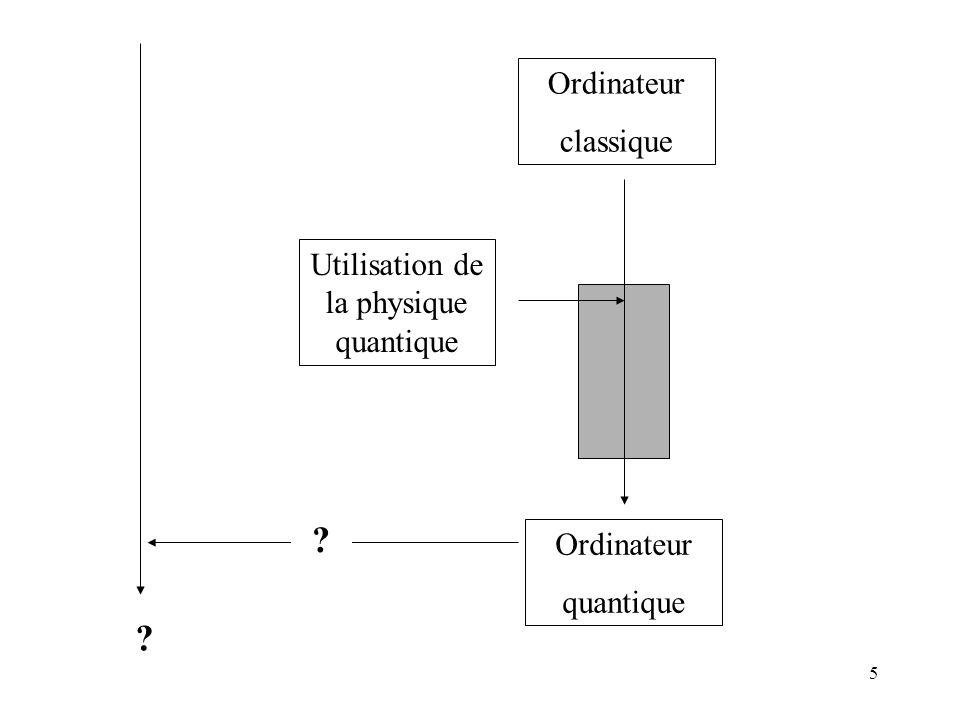Utilisation de la physique quantique