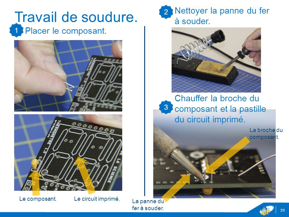 De la conception la fabrication d partement geii de l - Nettoyer circuit imprime ...
