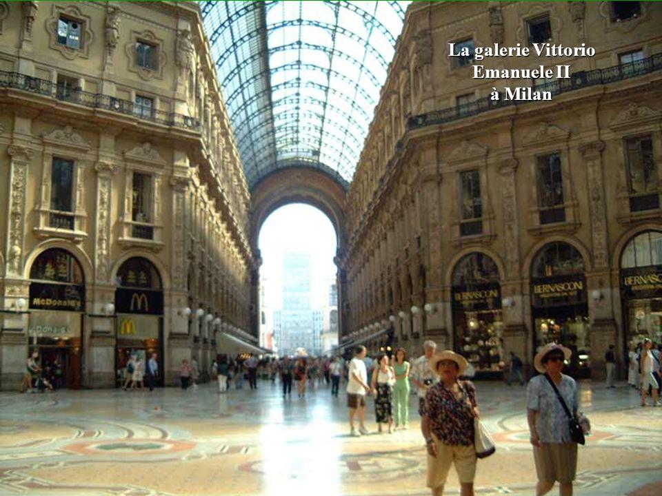 La galerie Vittorio Emanuele II à Milan
