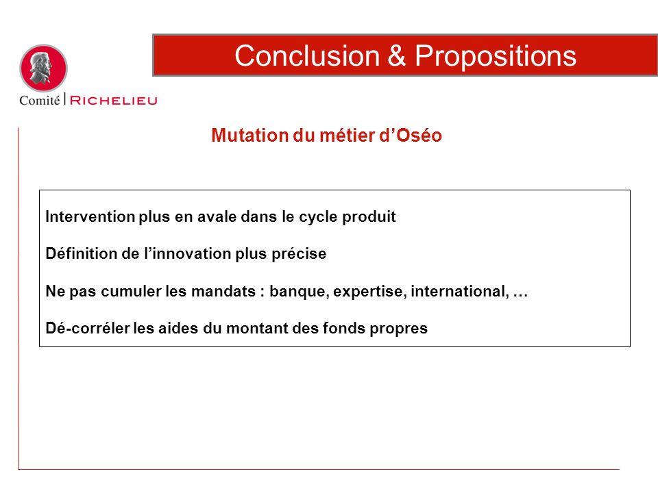 Conclusion & Propositions