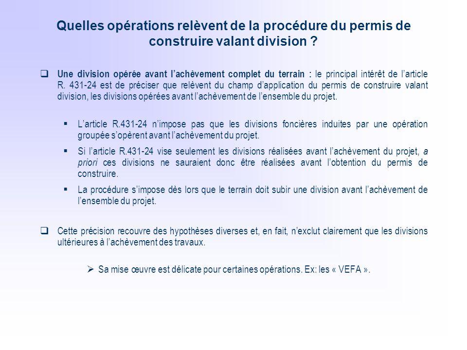 Le permis de construire valant division ppt t l charger for Obtention du permis de construire