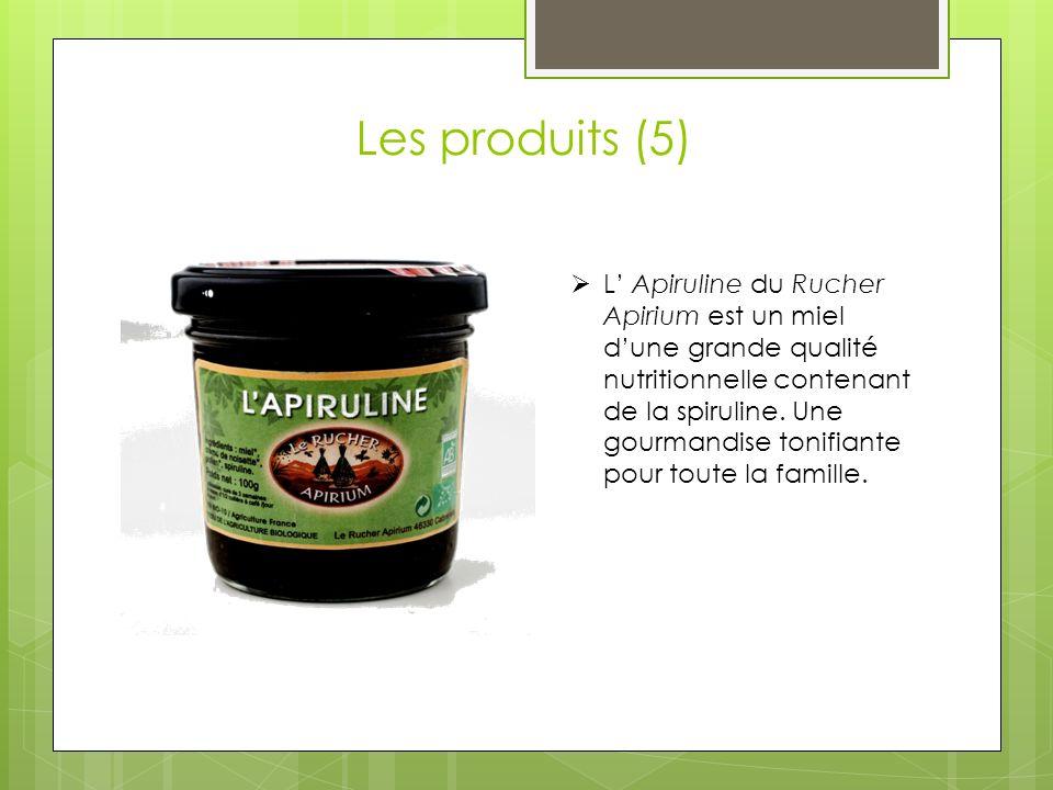 Les produits (5)