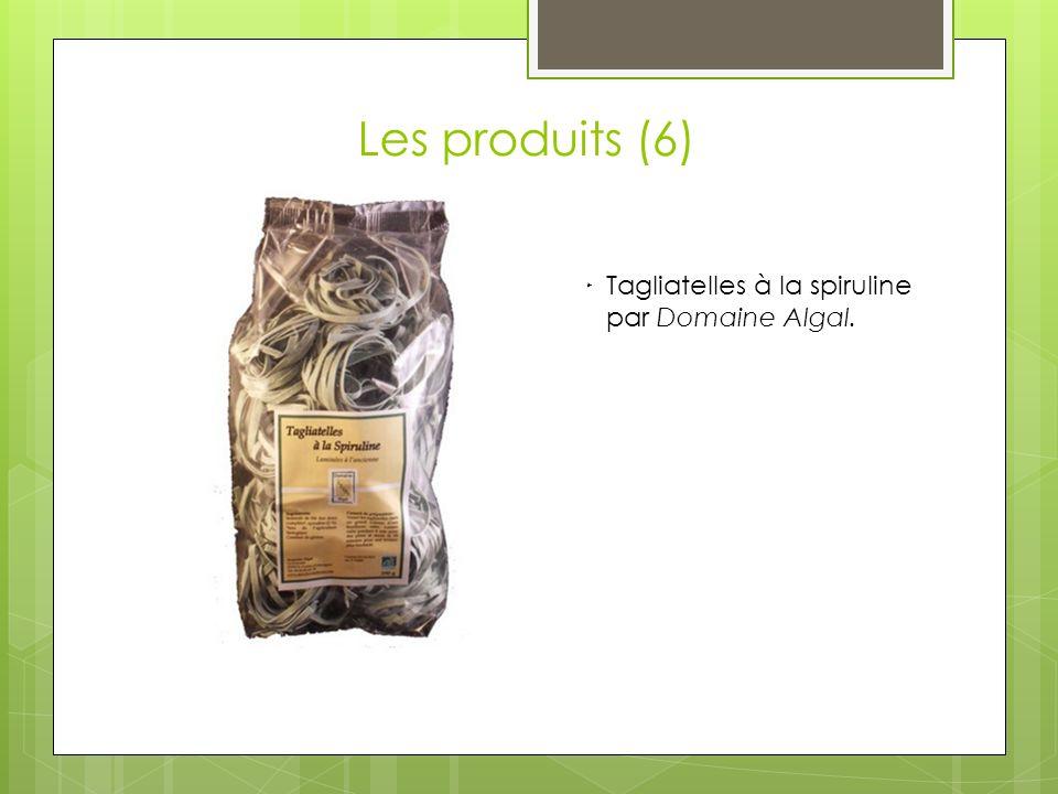 Les produits (6) Tagliatelles à la spiruline par Domaine Algal.