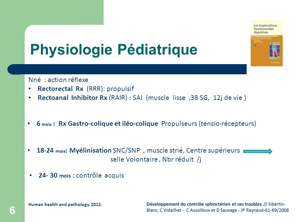 Physiologie Pédiatrique